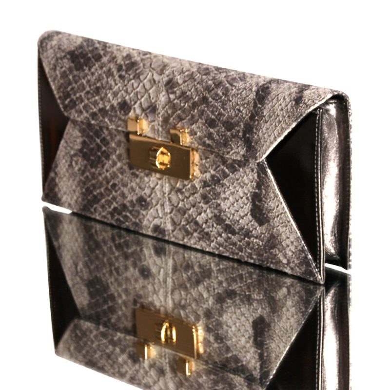 13014-4-Kionia-clutch-python-leather-metal-left