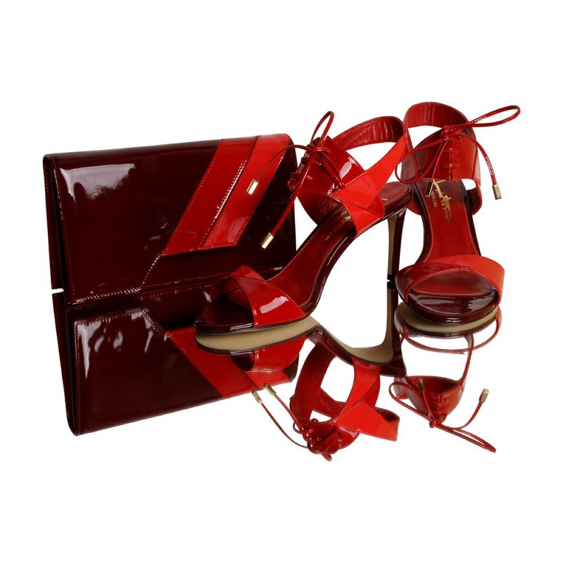 13024-20-cassandra-red passion-clutch-patent-leather-look