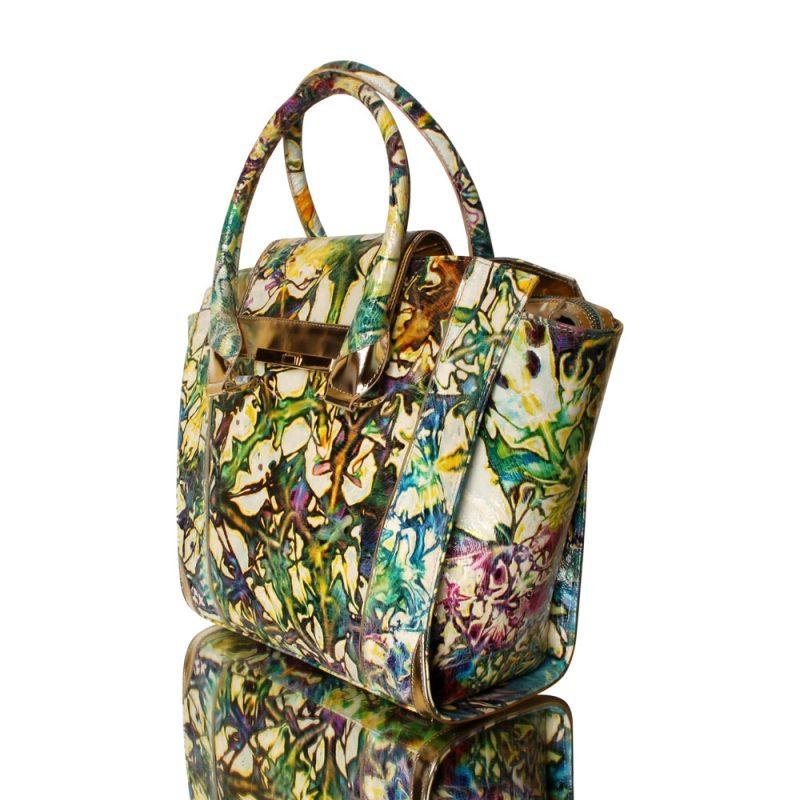 13015-05-handbag-genuine-leather-flower-print-joaquim-ferrer-left