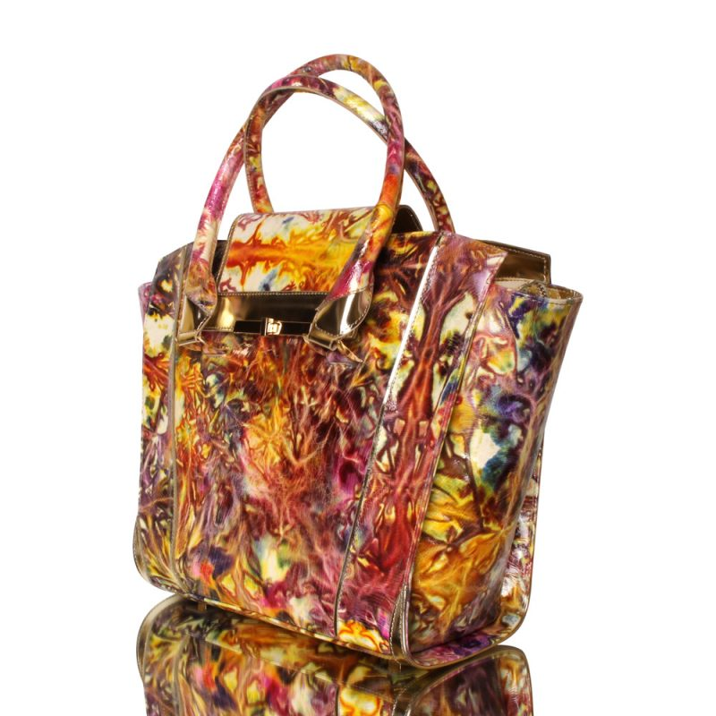 13015-08-handbag-genuine-leather-flower-print-joaquim-ferrer-left