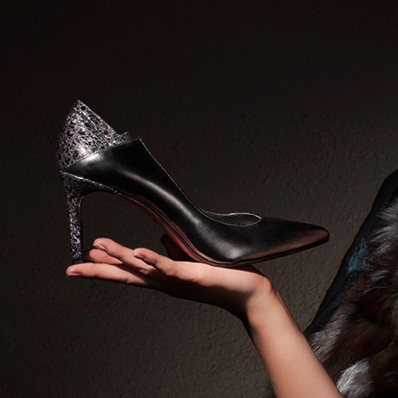 ARETHA- 7001-70 -high-heel-pumps-snake-design-joaquim-ferrer