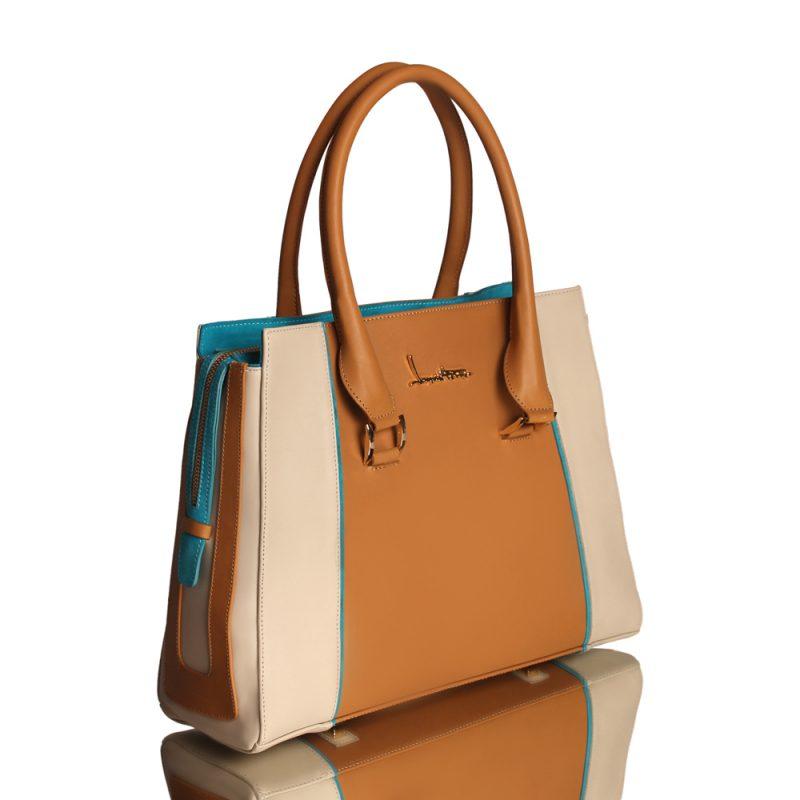 13001-6-Dyna-handbag-tan-calfleather-right