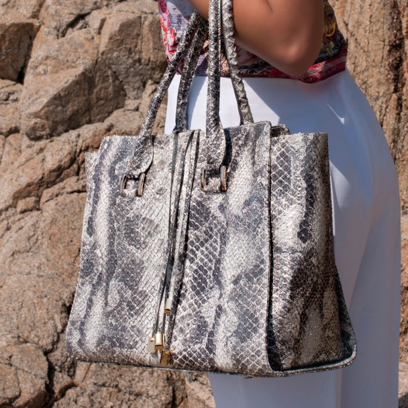13023-4-python-metal-leather-handbag-look