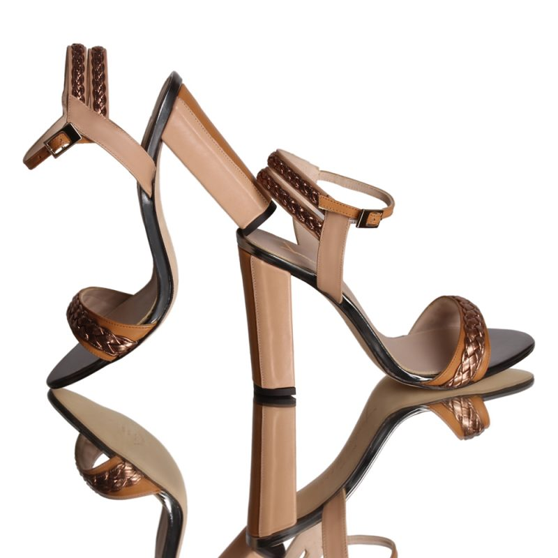 9001-11-Etra-bradided-bronze-sandal-leather-tan-look
