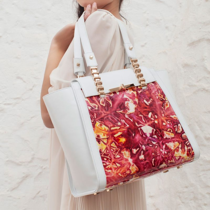 11002-23-handpainted-flower-print-collection-white-leather-model