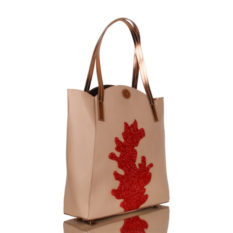 Brisa. Luxury shopper bag - Joaquim Ferrer - right