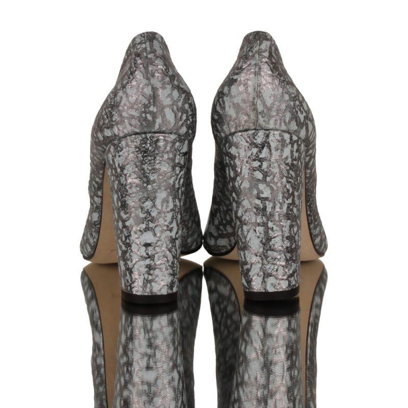 designer shoes - clarisse - joaquim ferrer - high heel pumps - back